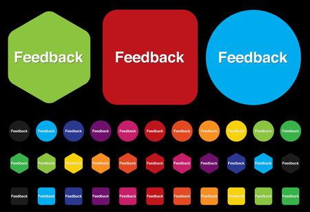 pensil: feedback button