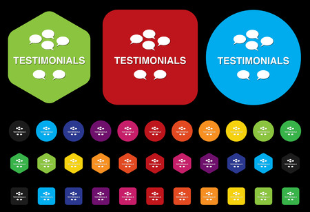 test probe: testimonials icon
