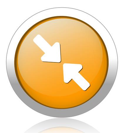 score under: Arrow button