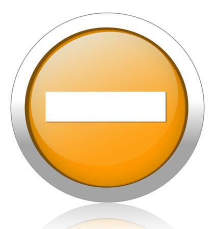 hyphen: mark segno meno sul pulsante