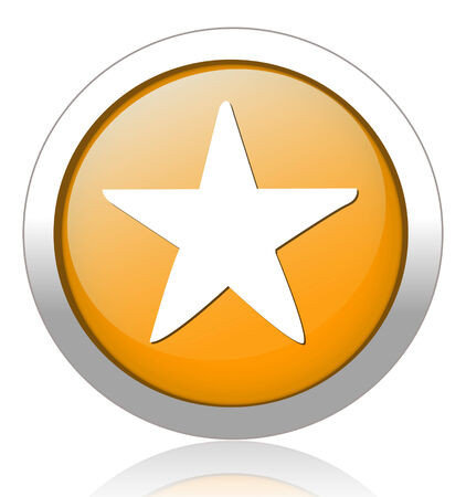 valuation: Star favorite web icon