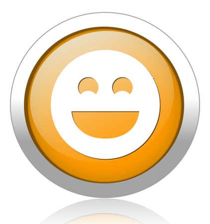 smiley face cartoon: cara sonriente Vectores