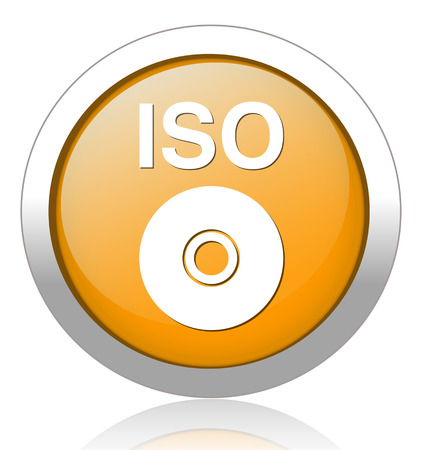 readout: iso cd dvd button Illustration