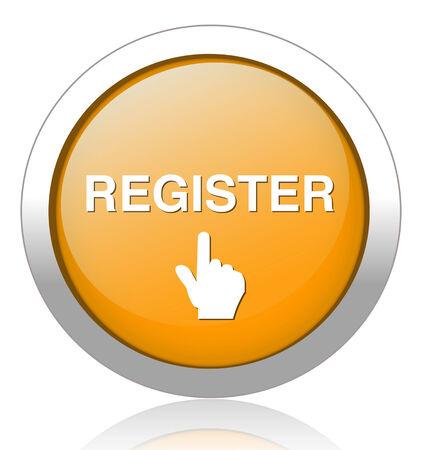 subscribing: register button