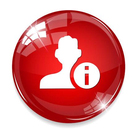 User info icon Vector
