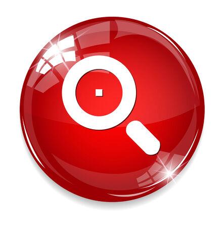lense: Glass Magnifier Icon