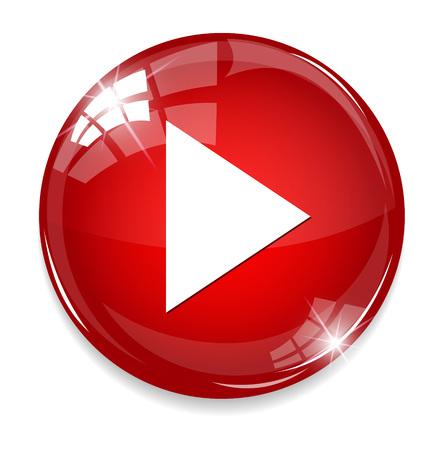 Media player button  イラスト・ベクター素材