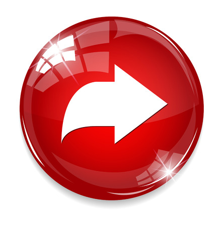 satin round: Arrow sign icon