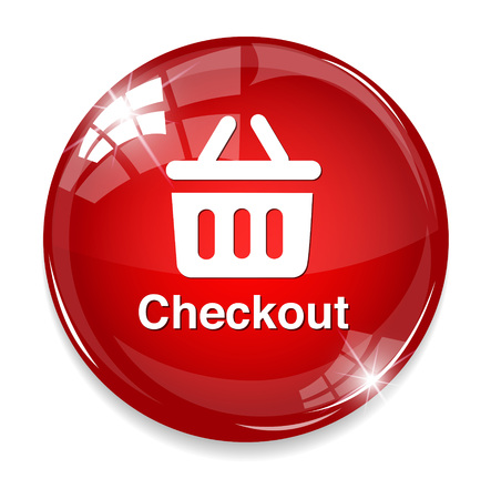 checkout button: checkout icon Illustration