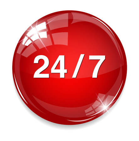 around the clock: 247 button