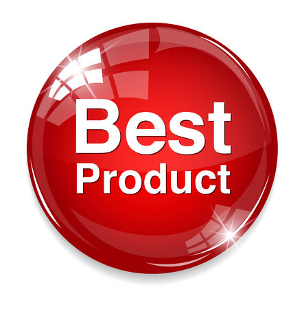 Best Product button Vector