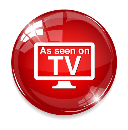 As seen on TV sign