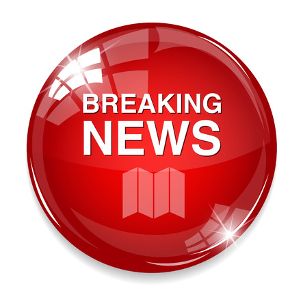Breaking News icon Vector