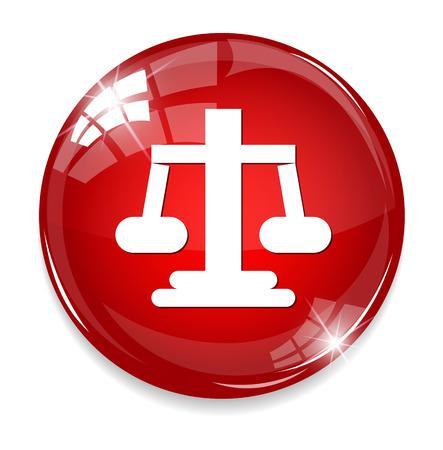 acquittal: Balance symbol Illustration