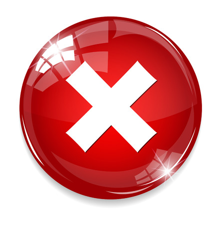 seal gun: delete remove button Illustration