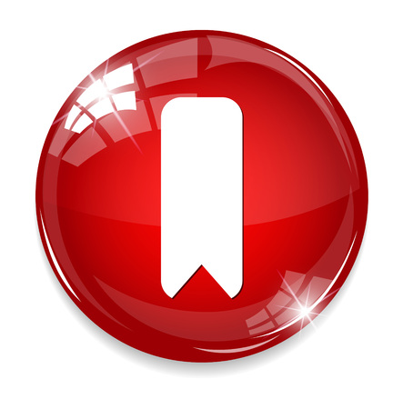bookmark button  イラスト・ベクター素材