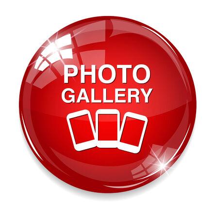 photo gallery: foto icono de la galer�a Vectores