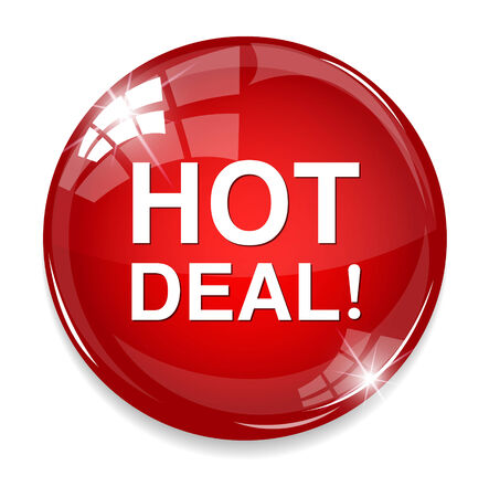 Hot deal button