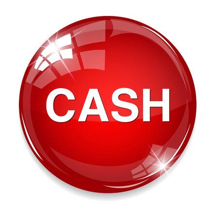 pushbutton: cash icon Illustration