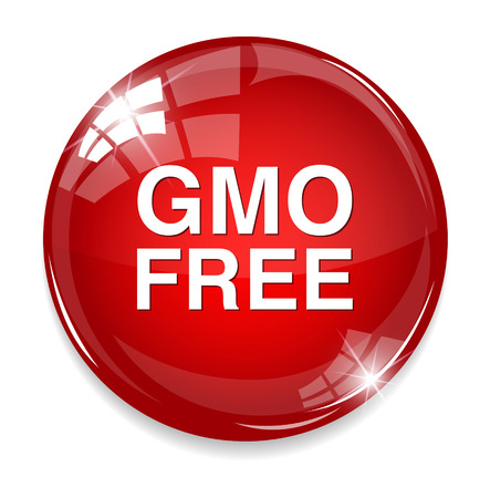 genetically: gmo free icon Illustration