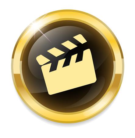 movie clapper: film icona batacchio tasto