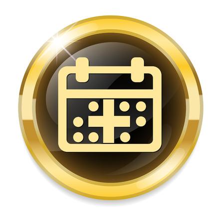 icono de calendario: Icono de calendario
