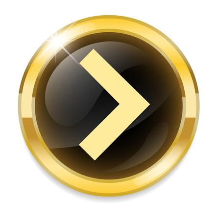 forward button Vector