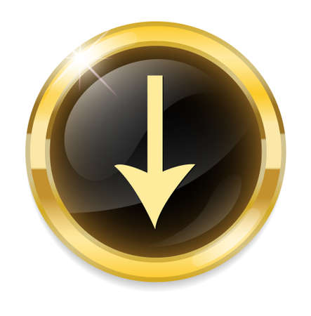 exchanging: icon with download sign inside