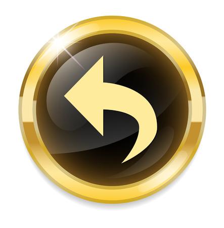 satin round: Arrow icon