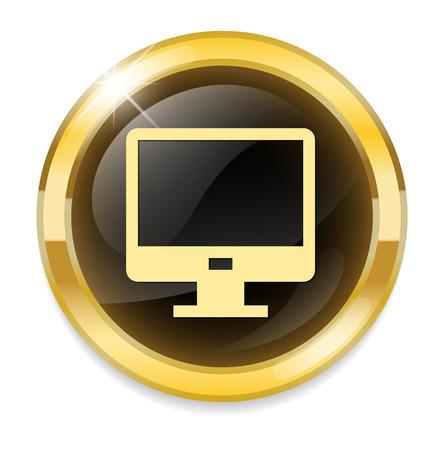 flatscreen: Monitor icon