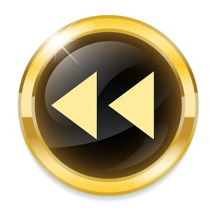 multimedia player button Vector