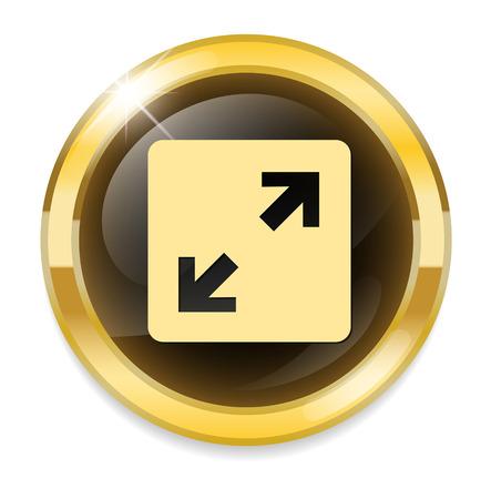 orientation marker: Arrow button