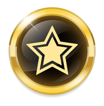 super cross: star icon Illustration