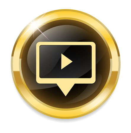 torrent: Play video button Illustration