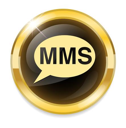 MMS button Vector