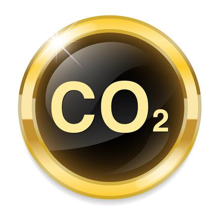 dioxide: carbon dioxide icon
