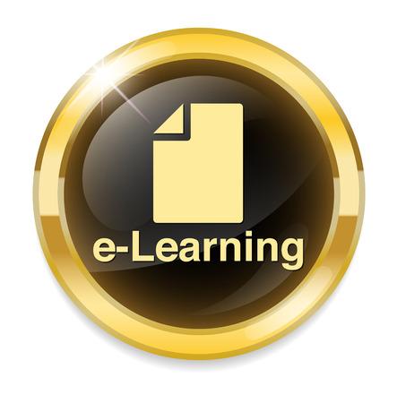 e-learning icon Vector