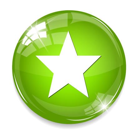 super cross: Star favorite web icon