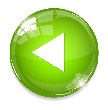 Media player button Vector