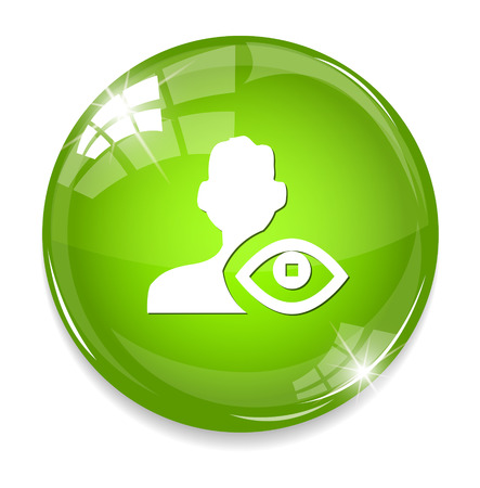rebuild: eye contact icon