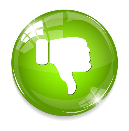 unsatisfied: Dislike (thumbs down icon)