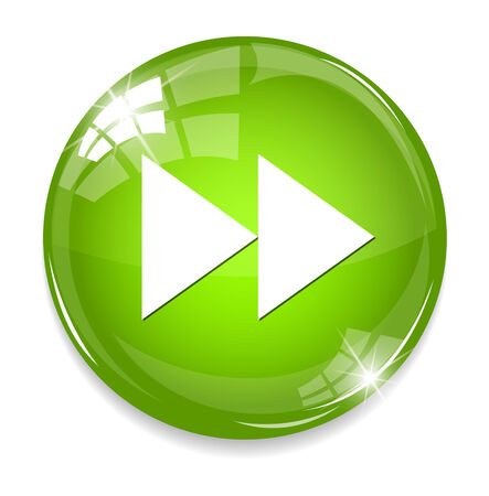 fast-forward button Illustration