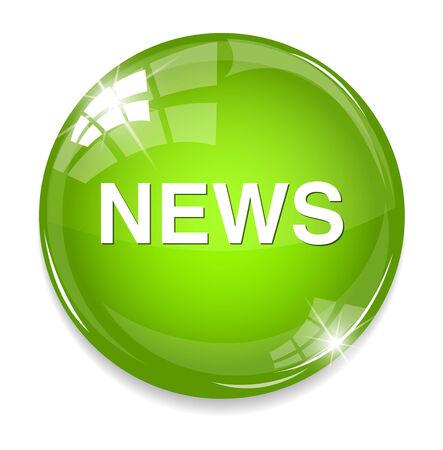 News button Vector