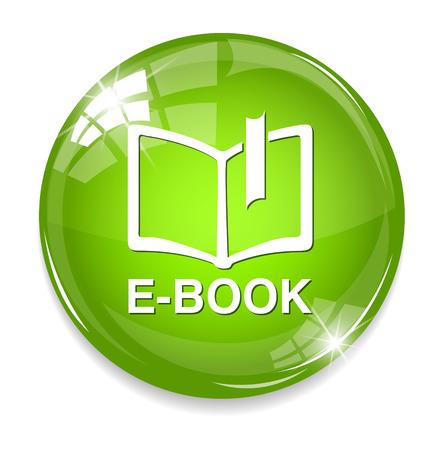 elettronic: Ebook icon button