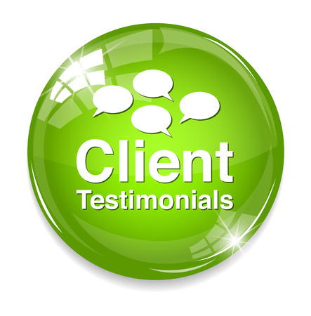 opinions: Client testimonials button