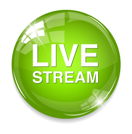 Button Livestream Illustration