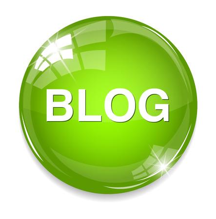 blog icon: blog icon Illustration