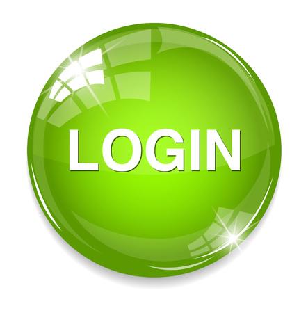 login icon Ilustração
