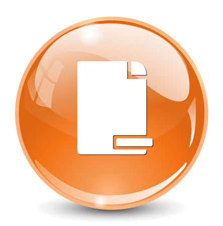 delete: delete document icon Illustration