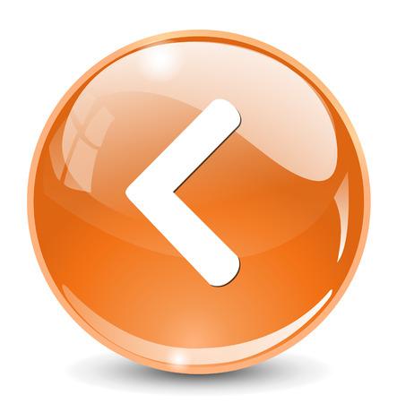 back link: Arrow icon